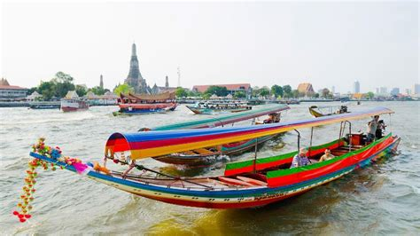 chao phraya river in bangkok bangkok waterway - Boat Transport Bangkok
