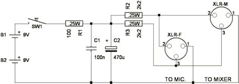 Power Lifier Soundcraft phantom power supply schematic get free image about