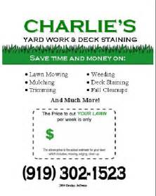 Free Lawn Mowing Flyer Template by Pin By Tolman On Diy