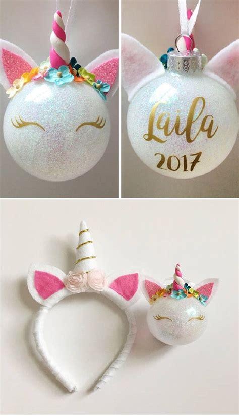 unicorn christmas ornament christmas ideas christmas