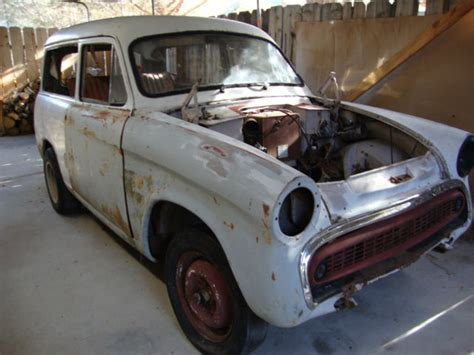 husky wagen 1959 2 door hillman husky wagon which can be converted