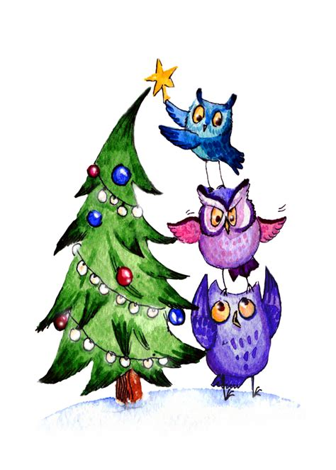 wallpaper christmas owl owls christmas by redilion on deviantart