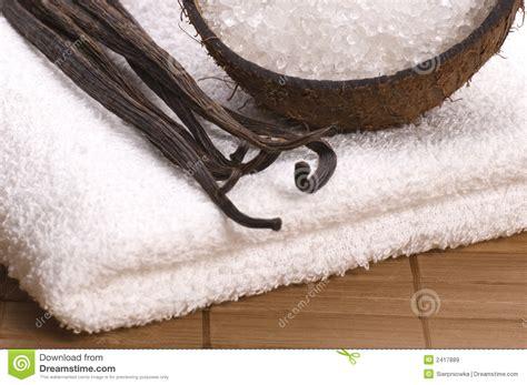 coco vanilla coco and vanilla bath royalty free stock images image