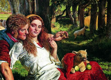 by william holman hunt the hireling shepherd the hireling shepherd by william holman hunt