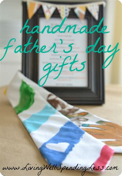 Handmade Fathers Day Presents - easy handmade father s day tie easy father s day gifts