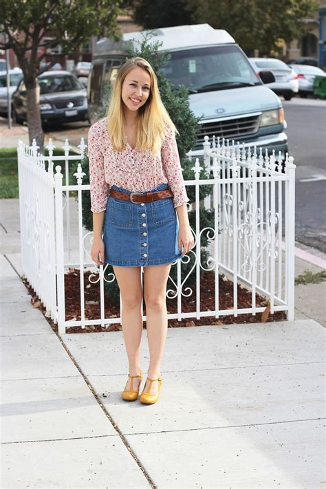 walton melville usa denim skirt american