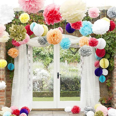 Wedding Decorations Colored Paper Flower Ball Wedding