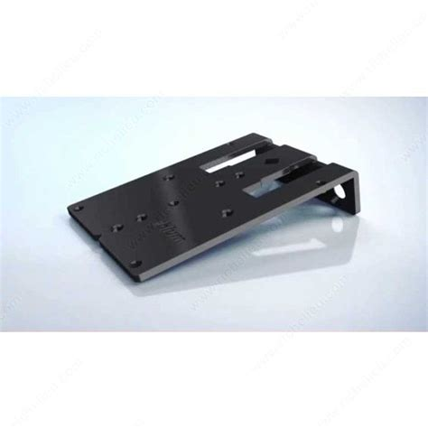 boring template for mounting plate richelieu hardware