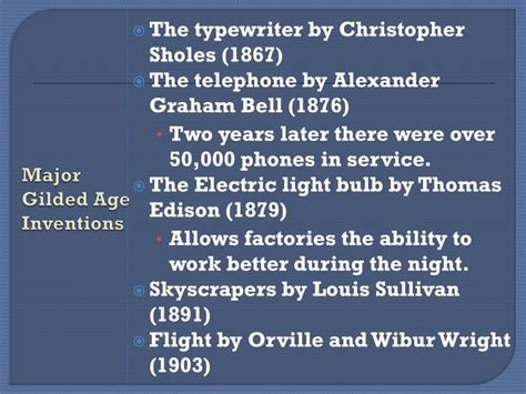 the gilded age 1876 1912 overture to the american century books ppt unit 2 the west and the gilded age industrial age