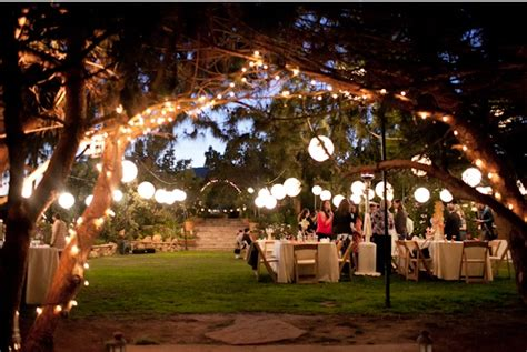 backyard lighting ideas for a party outdoor party lighting pretty parties etc pinterest