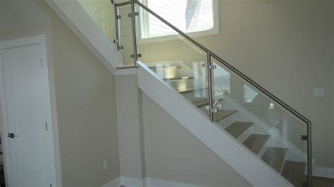 Home Interior Doors by Interior Glass Railing Systems Exterior Glass Railing