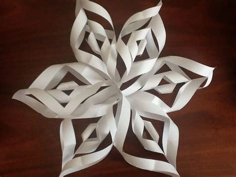 3d Paper Snowflakes - make a 3d paper snowflake 3d paper pictures and search
