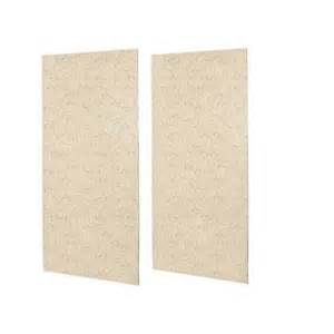 shower wall panels home depot swan 1 4 in x 48 in x 96 in 2 easy up adhesive