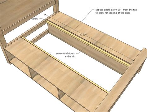 How To Make Futon Frame by How To Make Your Own Bed Frame With Storage Home Design