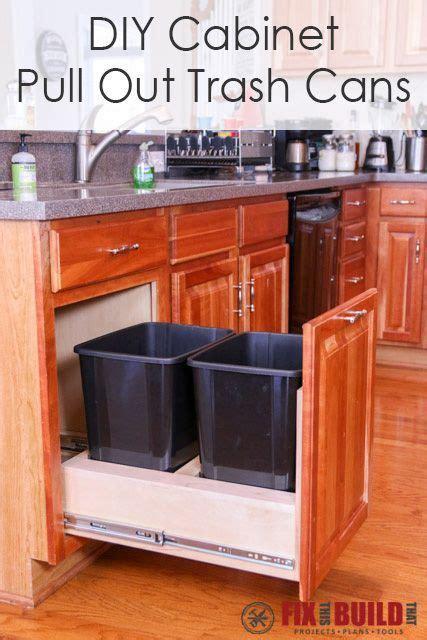hidden trash can cabinet 962 best kitchens images on pinterest kitchen ideas