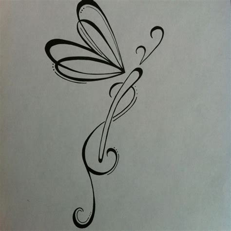butterfly dragonfly tattoo designs original dragonfly design black and white ink