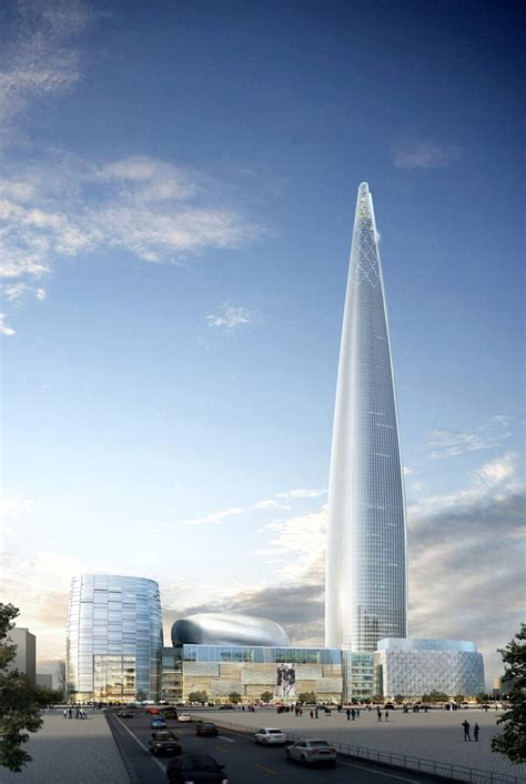 world tower world of architecture lotte world tower seoul south korea