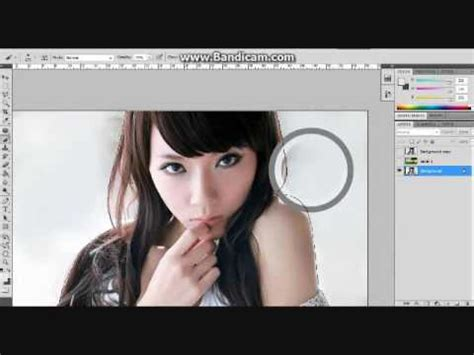 tutorial photoshop bagi pemula tutorial photoshop cara mengganti background terlihat