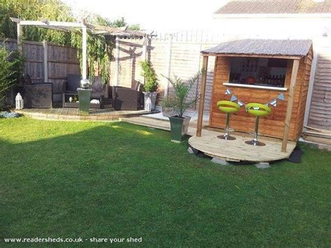 backyard shed bar or small and simple backyards bar and sheds