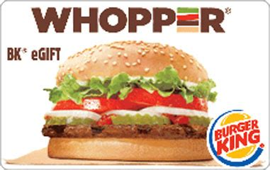 Burger King Gift Card Free - free burger king gift card prizerebel