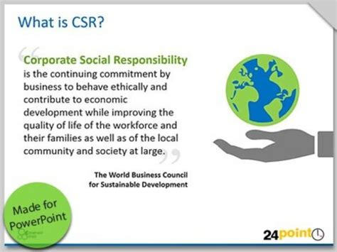 corporate social responsibility csr commerce project