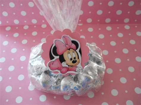Minnie Mouse Baby Shower Favors Ideas by Baby Minnie Mouse Bags And Tags Are For Your