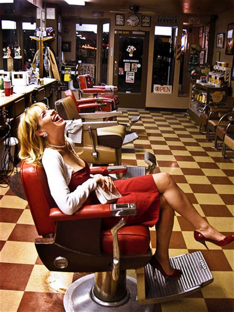 girl in barber chair sexy girls posing in the barber s chair a gallery on flickr