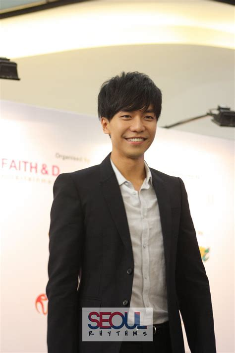 lee seung gi english speaking lee seung gi the brilliant show press conference