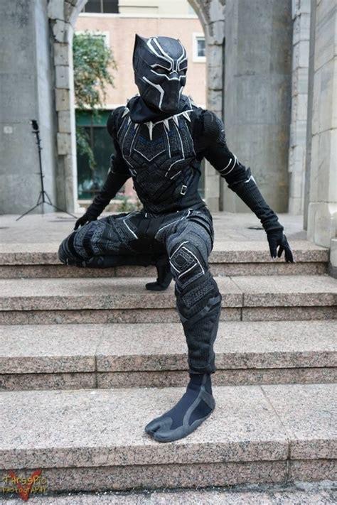 diy black panther costume