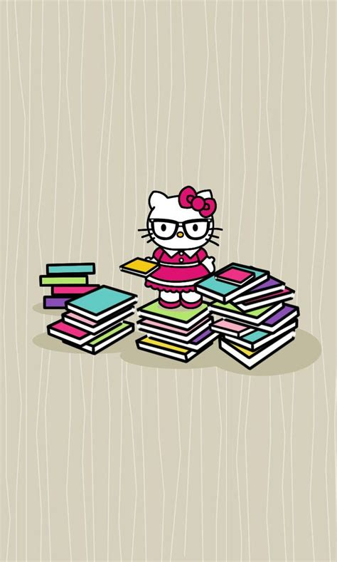 hello kitty nerd iphone wallpaper 477 best images about hello kitty on pinterest pink