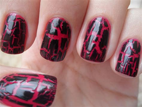 crackle nail crackle nail fit for a fashionista