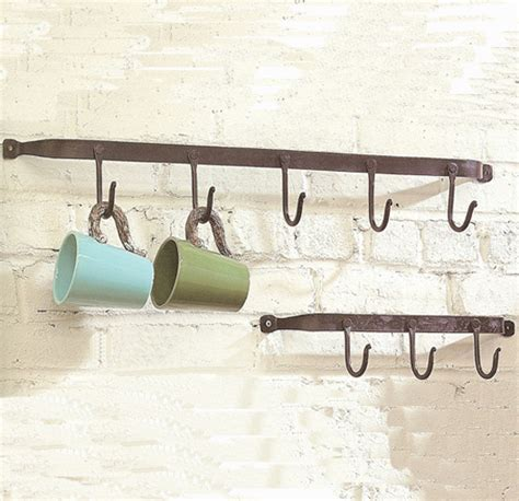 iron hook wall rack eclectic wall hooks atlanta by