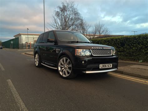 range rover truck conversion range rover sport 2010 2013 face lift autobiography body