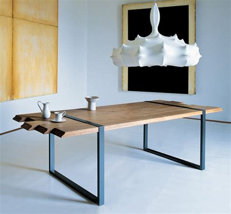 cool kitchen tables cool dining table by zanotta raw