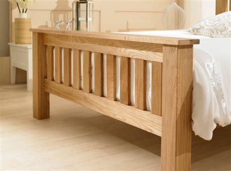 Emporia Richmond 4ft6 Double Solid Oak Bed Frame by