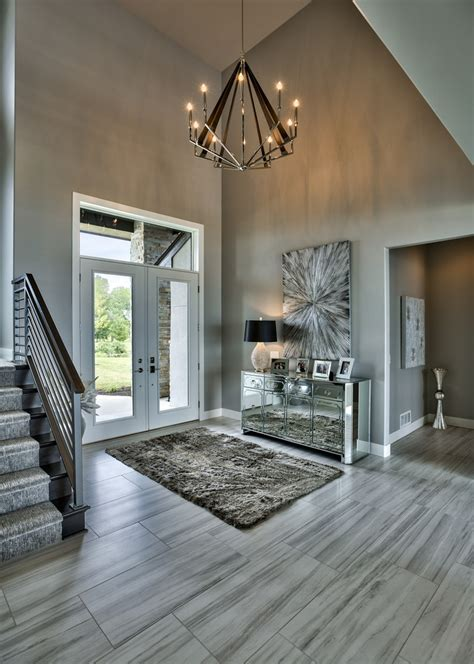 gray foyer ideas entry beach style  timeless design