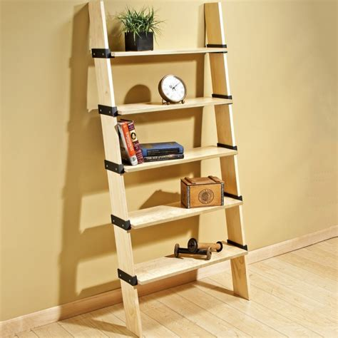Diy Ladder Bookcase Great Rockler Projects For Brand New Woodworkers Finewoodworking