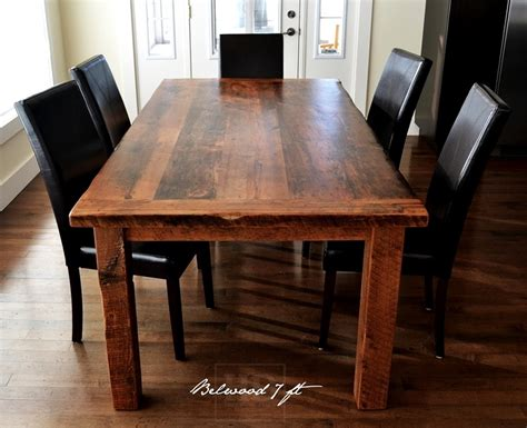 harvest kitchen table harvest table ontario harvest dining table reclaimed