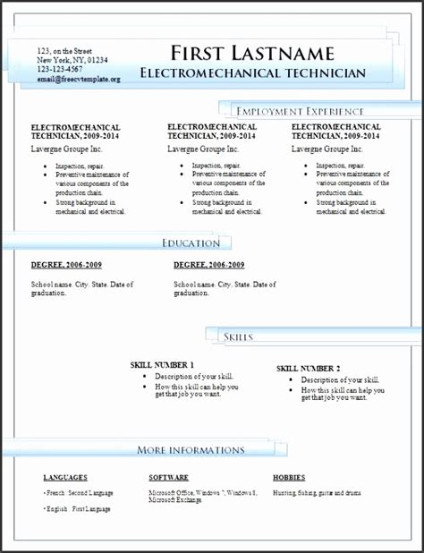 7 Download Word For Free Sletemplatess Sletemplatess Microsoft Office Resume Templates 2014