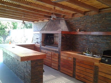 Outdoor Kitchen Plans And Photos Quinchos Ep Cosas Para La Casa Pinterest Barbacoa