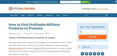 Search Affiliate Discover 135 Guides To Money With The
