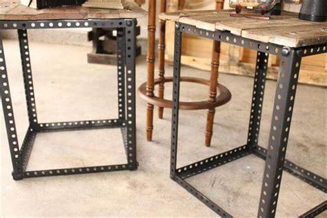 diy wood table with metal legs metal legs pallet end tables pallet furniture diy