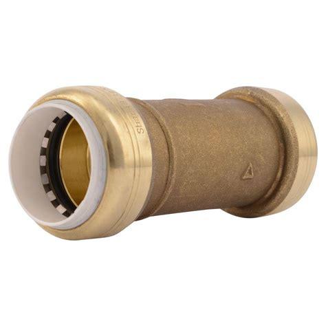 Pvc 8 D Rucika sharkbite 1 in brass push to connect pvc ips slip repair coupling uip3020a the home depot