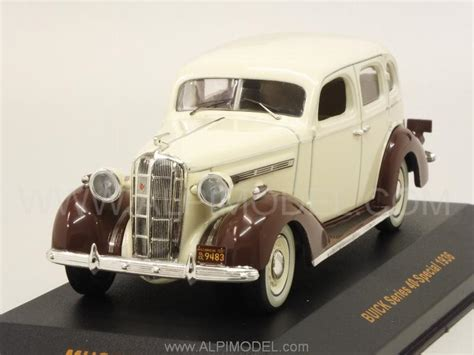 buick series 40 special year 1936 beige brown museum mus059 ean 4895102321018 ixo models buick series 40 special 1936 beige brown 1 43 scale model