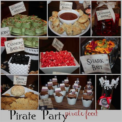 party themes with food just sweet and simple kids pirate party