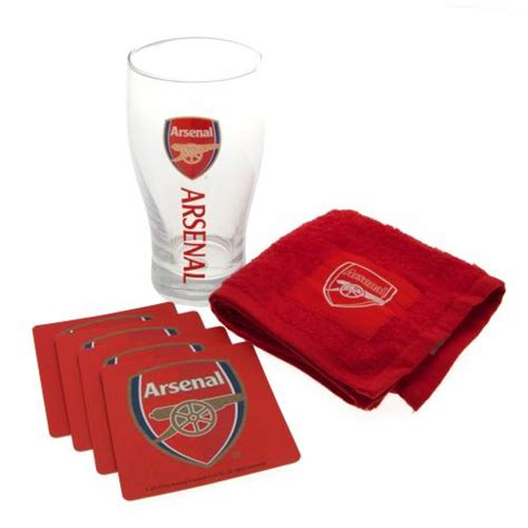 arsenal gift shop arsenal mini bar set gifts for an arsenal fan football