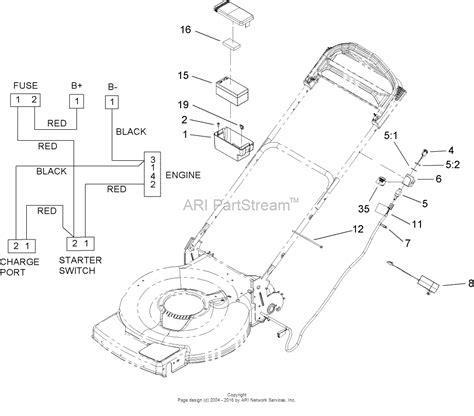 toro mower parts diagram toro 20074 22in recycler lawn mower 2007 sn 270000001
