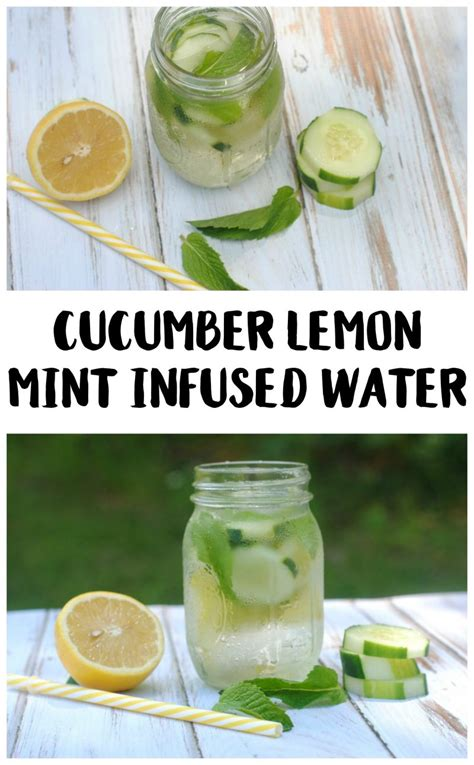 Lemon Cucumber Mint Detox Water Weight Loss by Cucumber Lemon Mint Water Recipe Not Quite Susie Homemaker