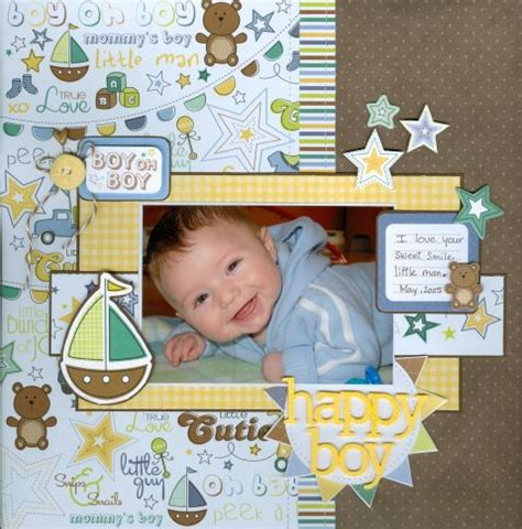 scrapbook layout for baby 171 best scrapbook pages baby images on pinterest