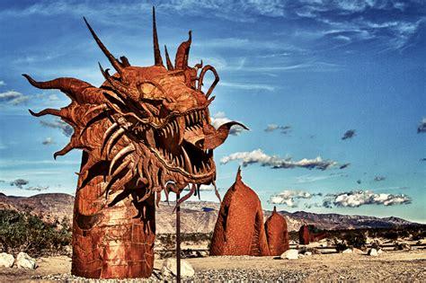 anzo borrego anza borrego desert sculptures a trish out of water